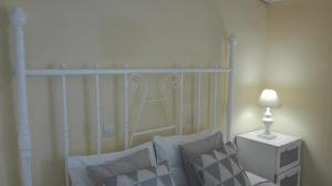 A seating area at Pantheon Apartments Kos Town