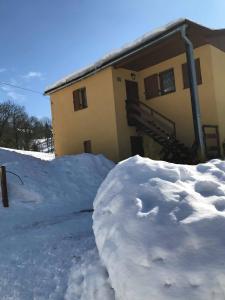 Chata Relax v zime