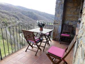 A balcony or terrace at La Fusteria del Casat