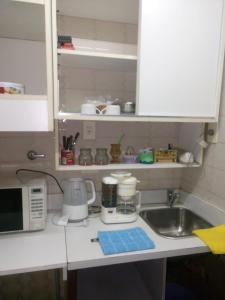 A kitchen or kitchenette at Grace's apartment