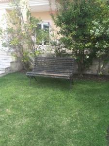 A garden outside Villa Golf do Montado