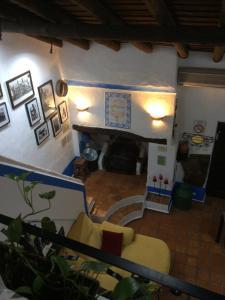 The lobby or reception area at O Barro