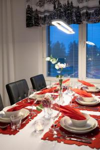 A restaurant or other place to eat at Residence Eliel