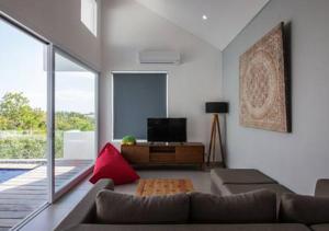 Setusvæði á Villa Omah Bali