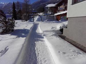 Alpenblick im Winter
