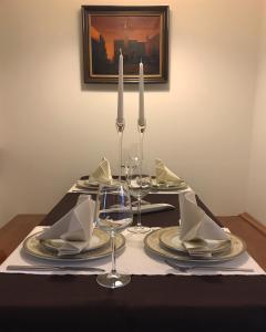 Restoran ili neka druga zalogajnica u objektu Apartment Julijan