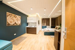 Kuhinja ili čajna kuhinja u objektu Belgrade Center Luxury Apartments