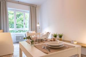 A kitchen or kitchenette at Politecnico - RentClass Dalila