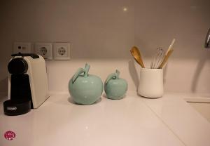 Bilik mandi di L'atelier Apartments (Poesia)