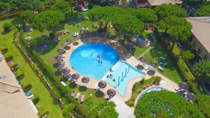 Een luchtfoto van Quinta Pedra Dos Bicos