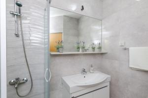 A bathroom at Vila Brasina