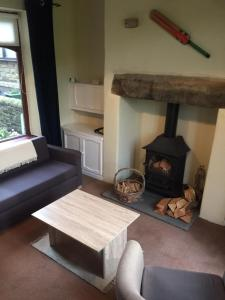 A seating area at Wicket Green Cottage