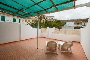 A balcony or terrace at Casa Fatima
