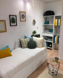 A bed or beds in a room at Centre Ville Bourg En Bresse