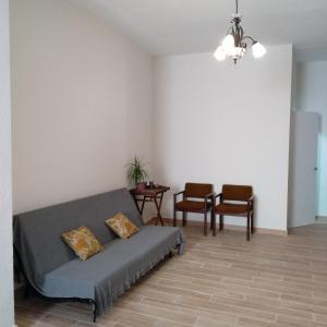A seating area at Apartamento en el centro