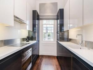 A kitchen or kitchenette at Luxury Maddox Apartment