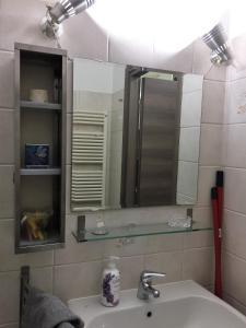 A bathroom at Porta Lame