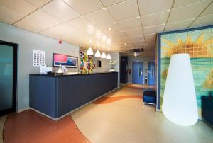 The lobby or reception area at Smartline Amarilis