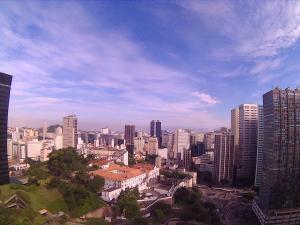 Amplo quarto/sala no centro Rio, vista definitiva