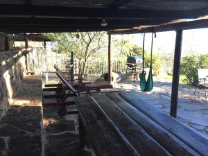 The fitness center and/or fitness facilities at Wonderful cottage in pure nature, Adeje.
