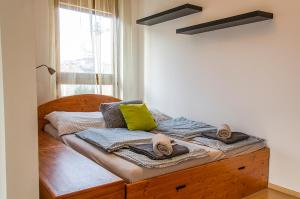 A bed or beds in a room at Toscana Apartment