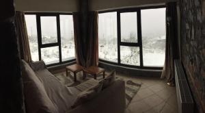 Το Ξενώνας Εύα τον χειμώνα