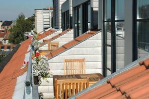 Balkón nebo terasa v ubytování Aparthotel AXL Flathotel Continental Stay