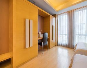 Гостиная зона в Beijing Yongli International Service Apartment