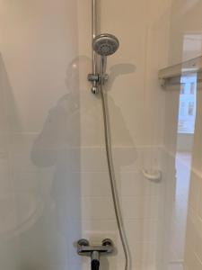 Een badkamer bij Studio Mare Nostrum