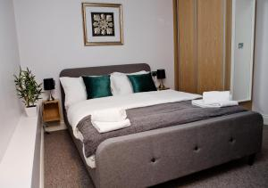 A bed or beds in a room at Soho Chambers