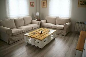 A seating area at Casa Taboada