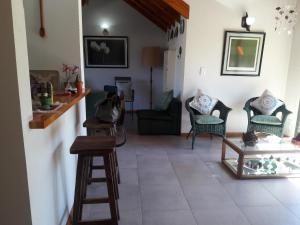 A seating area at Hermoso departamento dos dormitorios