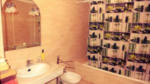 A bathroom at ap437