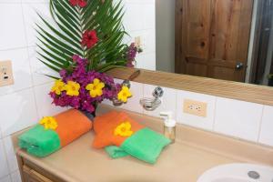 A bathroom at El Pelicano Apart-Hotel