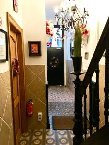 The lobby or reception area at Dubois Apartments.