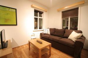 A seating area at A Part of Reykjavík Apartments - Vesturgata