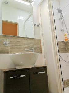 Ванная комната в Apartmány Řehořova