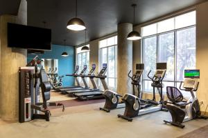 The fitness center and/or fitness facilities at Stay Alfred on Caroline Street