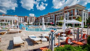 The swimming pool at or near Prestige Mer d'Azur