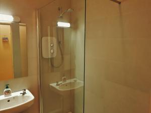 A bathroom at Halfpenny Bridge Holiday Homes - Garden