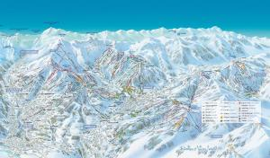 Le Chalet Vue Mont-Blanc during the winter