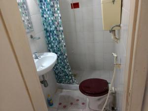 Un baño de Casa do Parque Burle