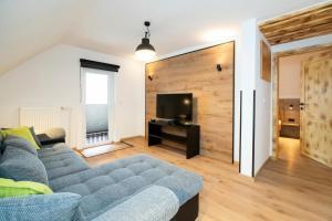Гостиная зона в Apartments Alp