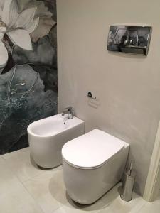 Ett badrum på Sant'Anna Studio Apartment