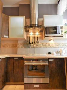A kitchen or kitchenette at Rynek Manana