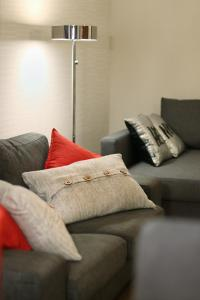 A seating area at Central Riverside Apartment