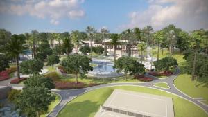 Vue sur la piscine de l'établissement EV252113 - Solara Resort - 6 Bed 5 Baths Villa ou sur une piscine à proximité