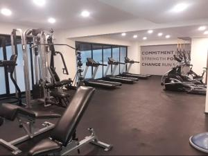 The fitness center and/or fitness facilities at Guadalupe Inn CDMX, NUEVO ESTRENA