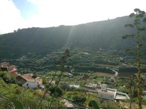 A bird's-eye view of Casa Luci