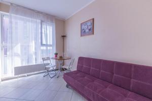 Гостиная зона в Apartment on Prospect Lenina 32A